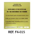 information-plaque