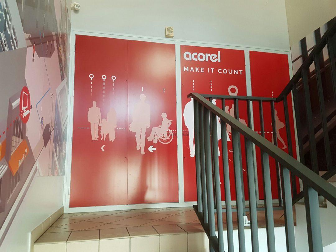 Multigraph Solutions habille les locaux de ACOREL